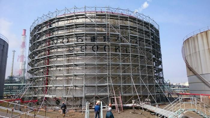 苫小牧共同発電所工事を承りました。