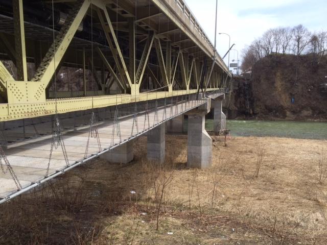 芦別大橋工事を承りました。