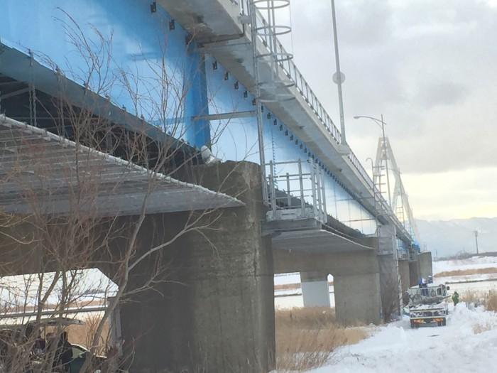 生振大橋工事を承りました。