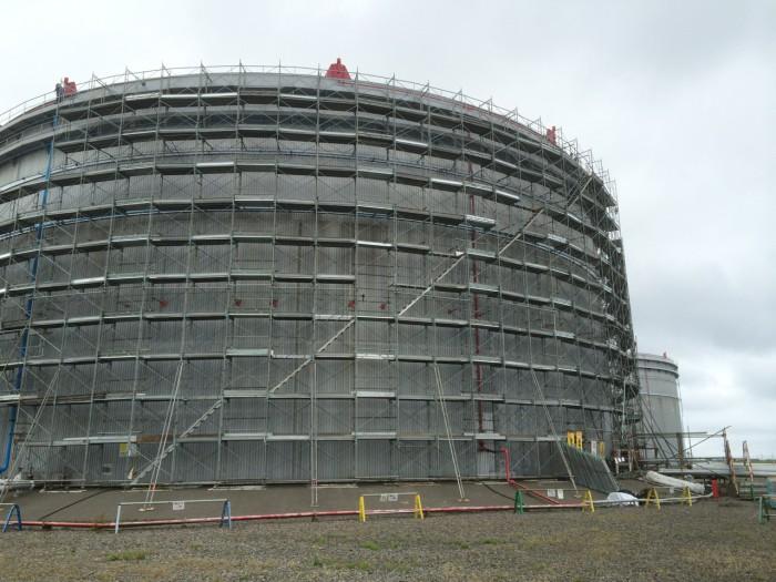 伊達発電所工事を承りました。