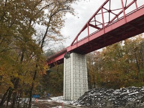 海竜橋工事を承りました。