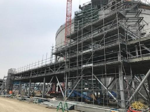 石狩LNG工事を承りました。